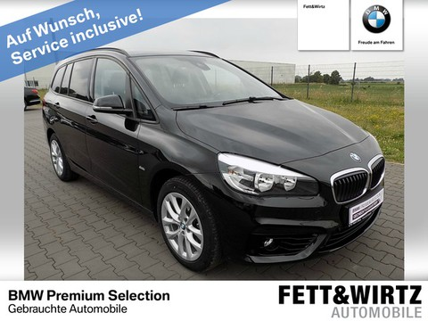 BMW 216 Gran Tourer Sport Line 3 Sitzreihe 17