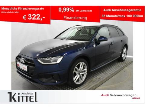 Audi A4 Avant advanced 40 TDI quattro