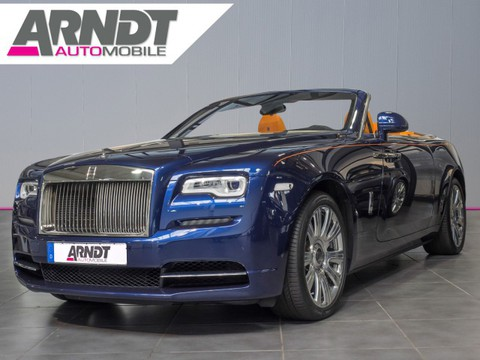Rolls-Royce Dawn Drophead Coupe Royal Blue Mandarin