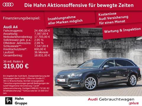 Audi A4 2.0 TDI Avant S-line Einpark