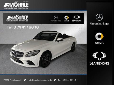 Mercedes-Benz C 180 Cabriolet AMG Line Infotainment-Paket