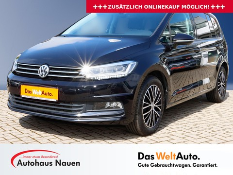 Volkswagen Touran 2.0 TDI Comfortline Pro 2 Kindersitze integriert