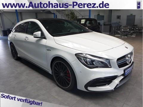 Mercedes-Benz CLA 45 AMG Shooting Brake ABGAS