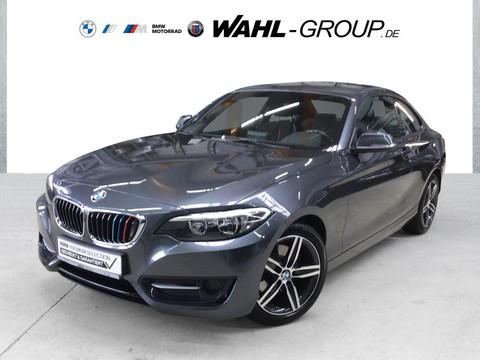 BMW 220 i Coupé Sport Line