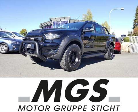 Ford Ranger Limited Doka Black Edition #UMBAU #MONSTER