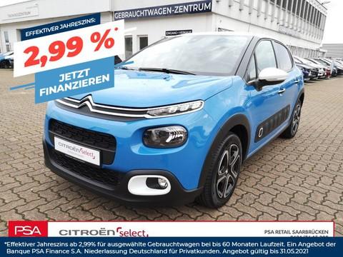 Citroën C3 1.2 SHINE l110PS Fernlichtassistent|||