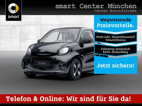 smart ForTwo EQ 60kWed passion Dig