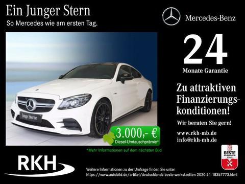 Mercedes-Benz C 43 AMG Coupé Night-P Abgasan