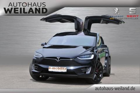 Tesla Model X P100D Allradantrieb