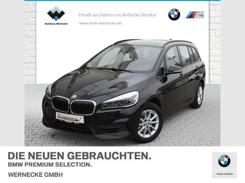 BMW 218 i Gran Tourer Advantage 3 Sitzreihe