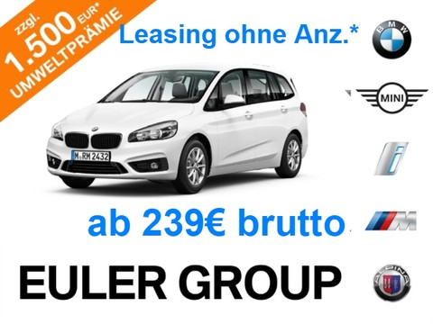 BMW 216 Gran Tourer d Parkass v h