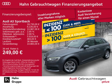 Audi A3 1.0 TFSI Sportback Einpark