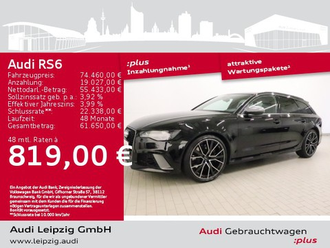 Audi RS6 4.0 TFSI quattro Avant performance Vmax280