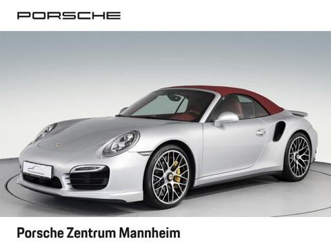 Porsche 911 Turbo Cabriolet Burmester Sitzbel