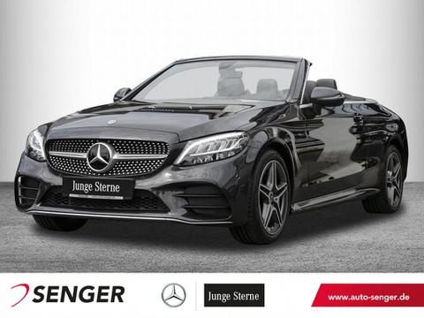 Mercedes-Benz C 180 Cabrio AMG Display digital