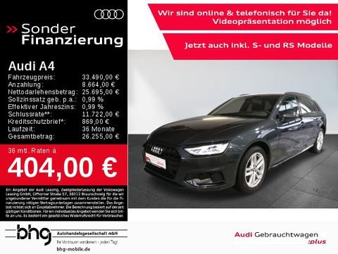 Audi A4 Avant 35 TDI advanced AssistTour Business OptikSchwarz M