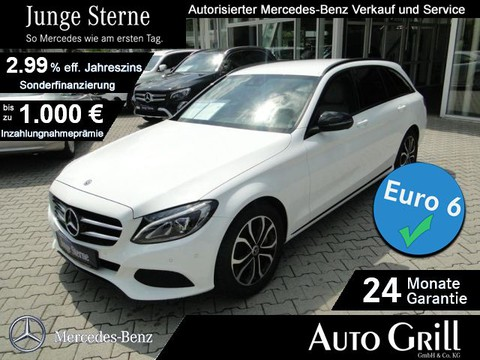 Mercedes C 300 T AVANTG NIGHT Sport-Abgas