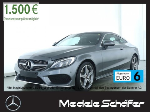 Mercedes C 300 Coupe AMG PanoramaSD Park
