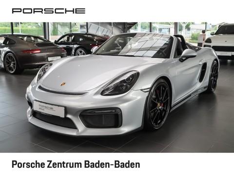 Porsche Boxster Spyder inkl Package Plus