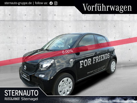 smart ForFour Serie Black Line