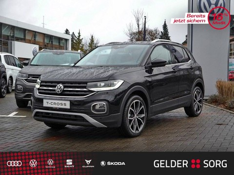 Volkswagen T-Cross 1.0 l TSI Style Active Inf Display Front