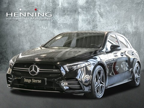Mercedes-Benz AMG A 35 Burmester Ambientebel MBUX