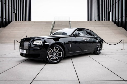 Rolls-Royce Ghost Black Badge SpiritEcstasy Starlight Theatre