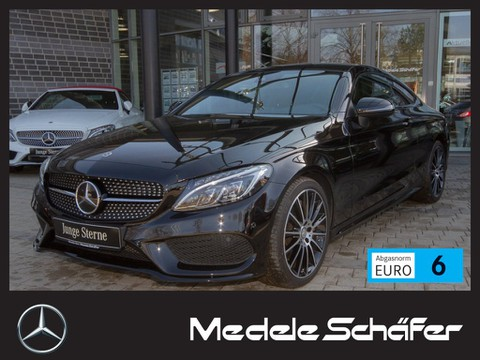 Mercedes C 300 Coupe AMG Night Distron Burmester