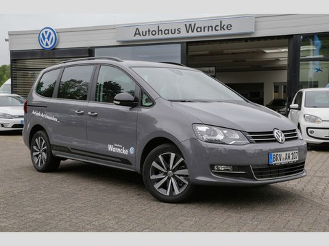 Volkswagen Sharan 2.0 TDI Highline Black Style Anschl Gar