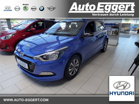 Hyundai i20 1.0 Passion blue Turbo Multif Lenkrad