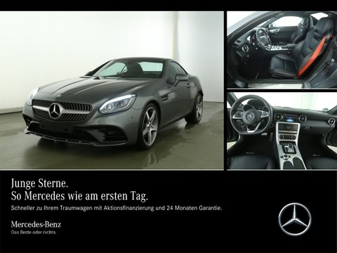 Mercedes SLC 200 AMG Panodach ParkAssi