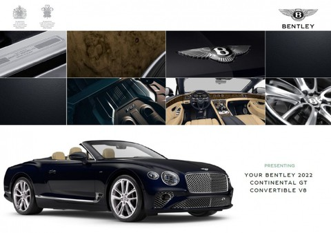 Bentley New Continental GTC V8 ELEGANT VOLLAUSSTATTUNG
