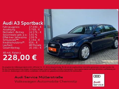 Audi A3 1.5 TSI Sportback basis Heck