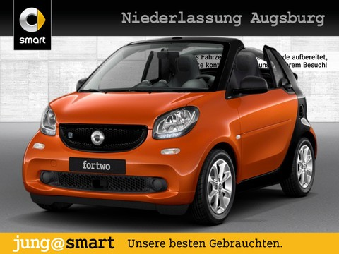 smart ForTwo cabrio 60kWed passion