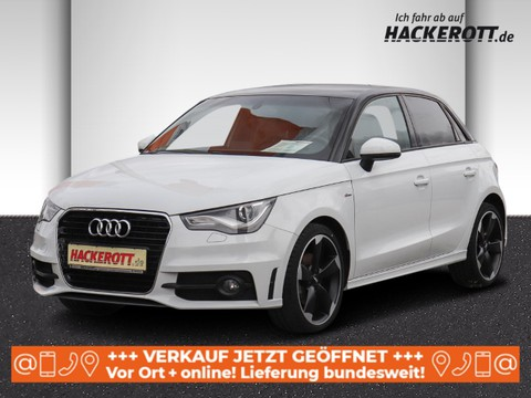 Audi A1 1.4 TFSI Sportback S line Sportpaket Multif Lenkrad