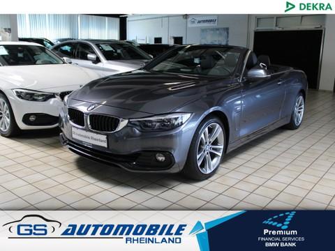 BMW 420 iAut Cabrio SPORT Nackenh 18
