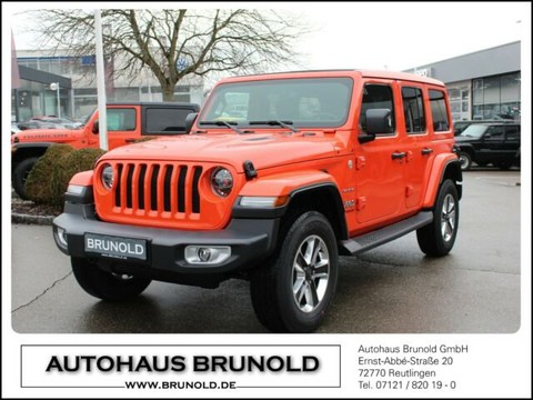 Jeep Wrangler 2.2 l CRDi Unlimited Sahara MY18