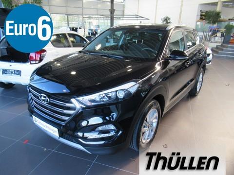 Hyundai Tucson 1.7 CRDi blue