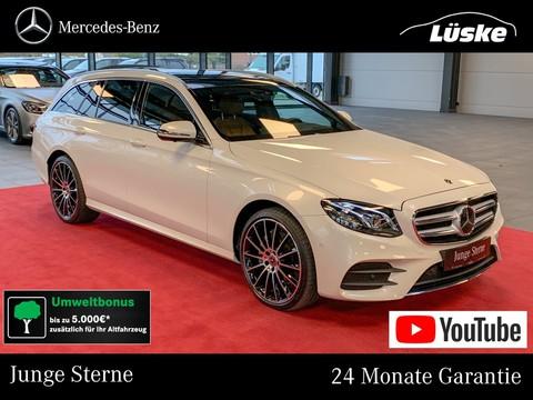 Mercedes E 220 d T AMG line