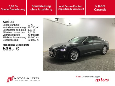 Audi A6 50 TDI QU DESIGN 5JG TV