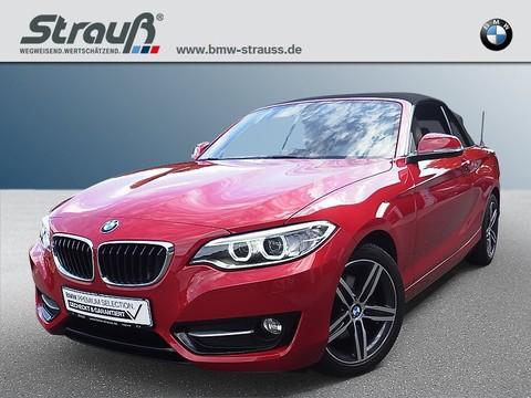 BMW 220 d Cabrio Sport Line HiFi Komfortzg