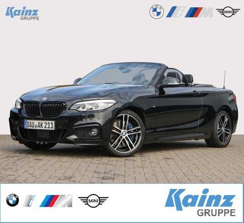 BMW 230 i Cabrio M Sport 18 Fernlichtassistent Harmon Kardon