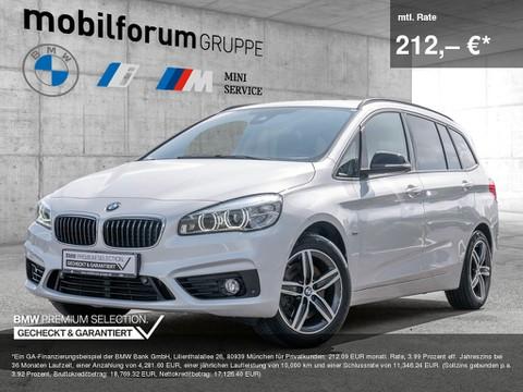 BMW 220 d Gran Tourer Sport Line