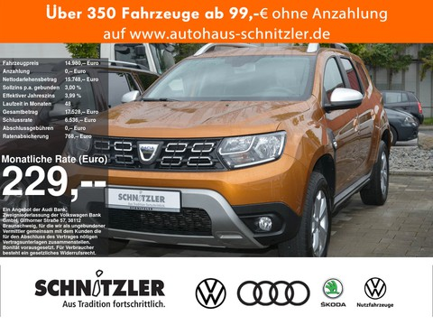 Dacia Duster 1.6 II SCe 115 Comfort 229 ohne Anzahlung