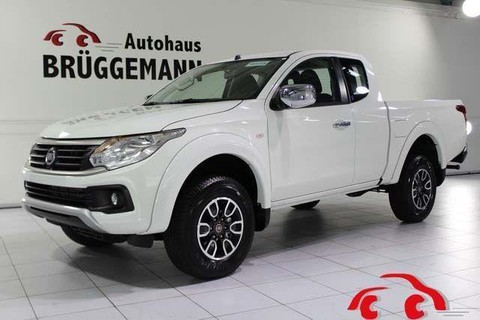 Fiat Fullback EXTENDED CAB LX SILVER
