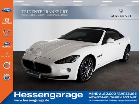 Maserati GranCabrio letzter V8 bei TRIDENTE FRANKFURT