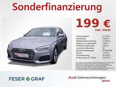 Audi A5 2.0 TDI Sportback design