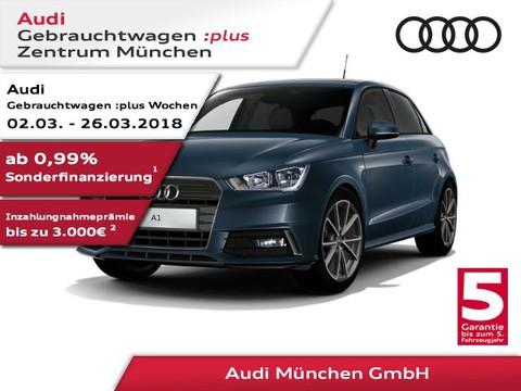 Audi A1 1.4 TFSI Sportback S line admired Zoll