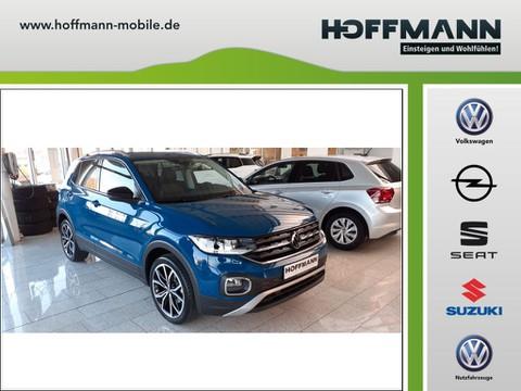 Volkswagen T-Cross 1.0 TSI OPF Style Designpaket Schwarz