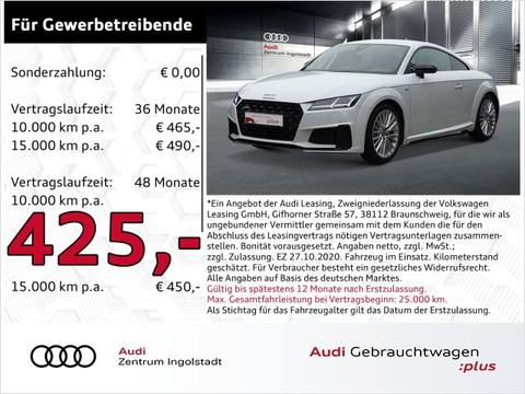 Audi TT Coupé S line 45 TFSI qu Optik-schwar